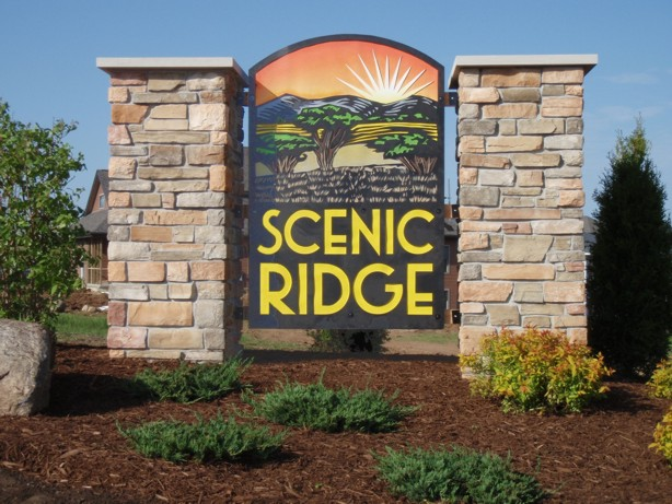 Picture of Scenic Ridge Entrance Sign